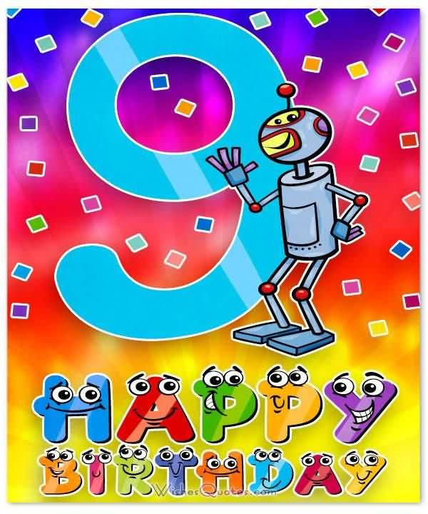 Amazing 9th Birthday Picture For Children