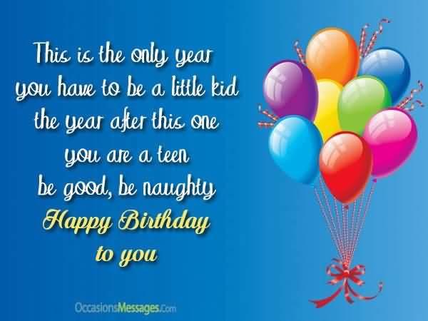 Amazing Happy 12th Birthday Message For Children