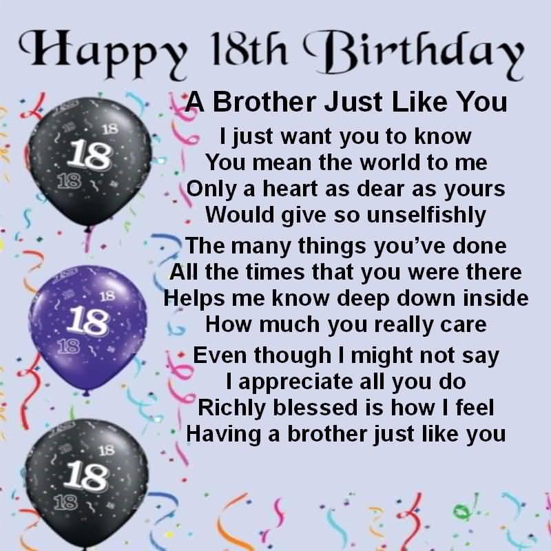 Amazing Happy 18th Birthday Greeting For Children