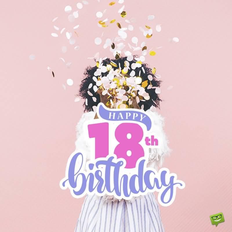 Amazing Happy 18th Birthday Idea For Children