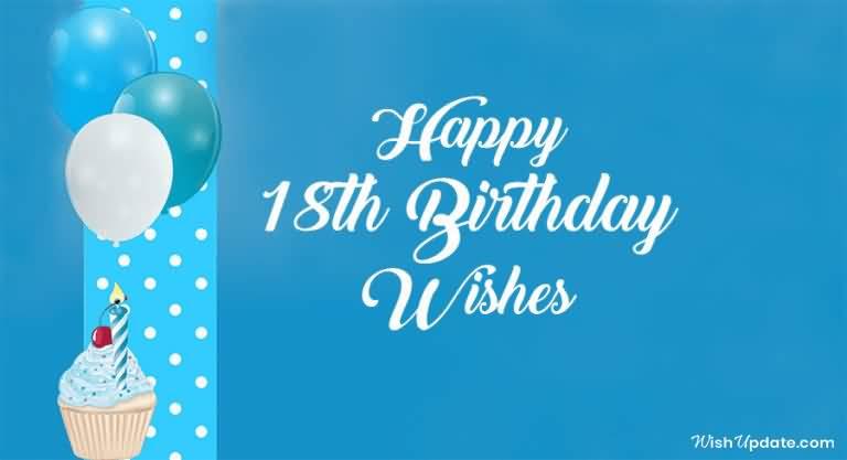 Amazing Happy 18th Birthday Wish For Children