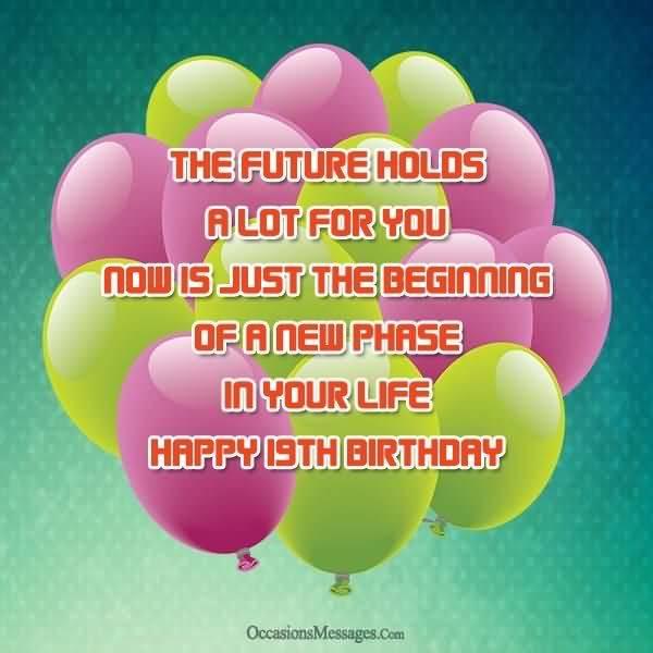 Amazing Happy 19th Birthday Idea For Children