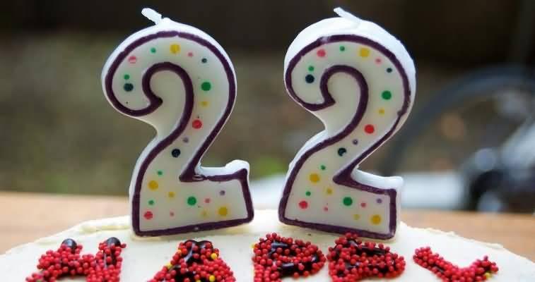 Amazing Happy 22nd Birthday Wish For Family Member