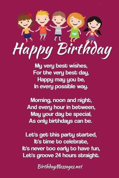 Amazing Happy 24th Birthday Wish For Sharing