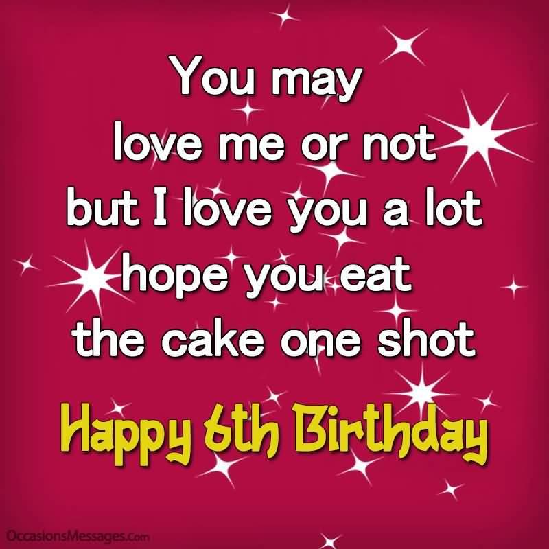 Attractive 6th Birthday Idea For You