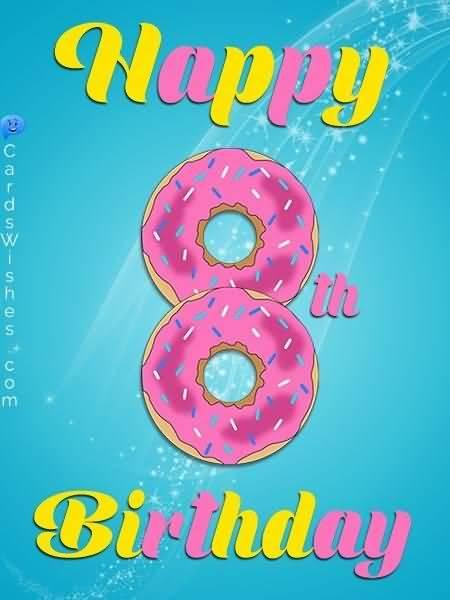 Attractive 8th Birthday Idea For Facebook