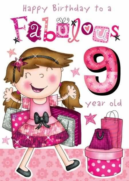 Attractive 9th Birthday Idea For You