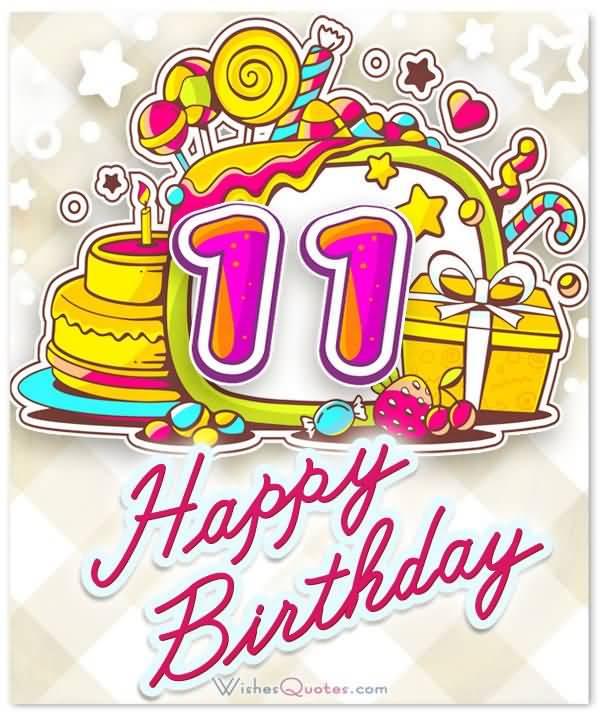 Attractive Happy 11th Birthday Idea For Facebook