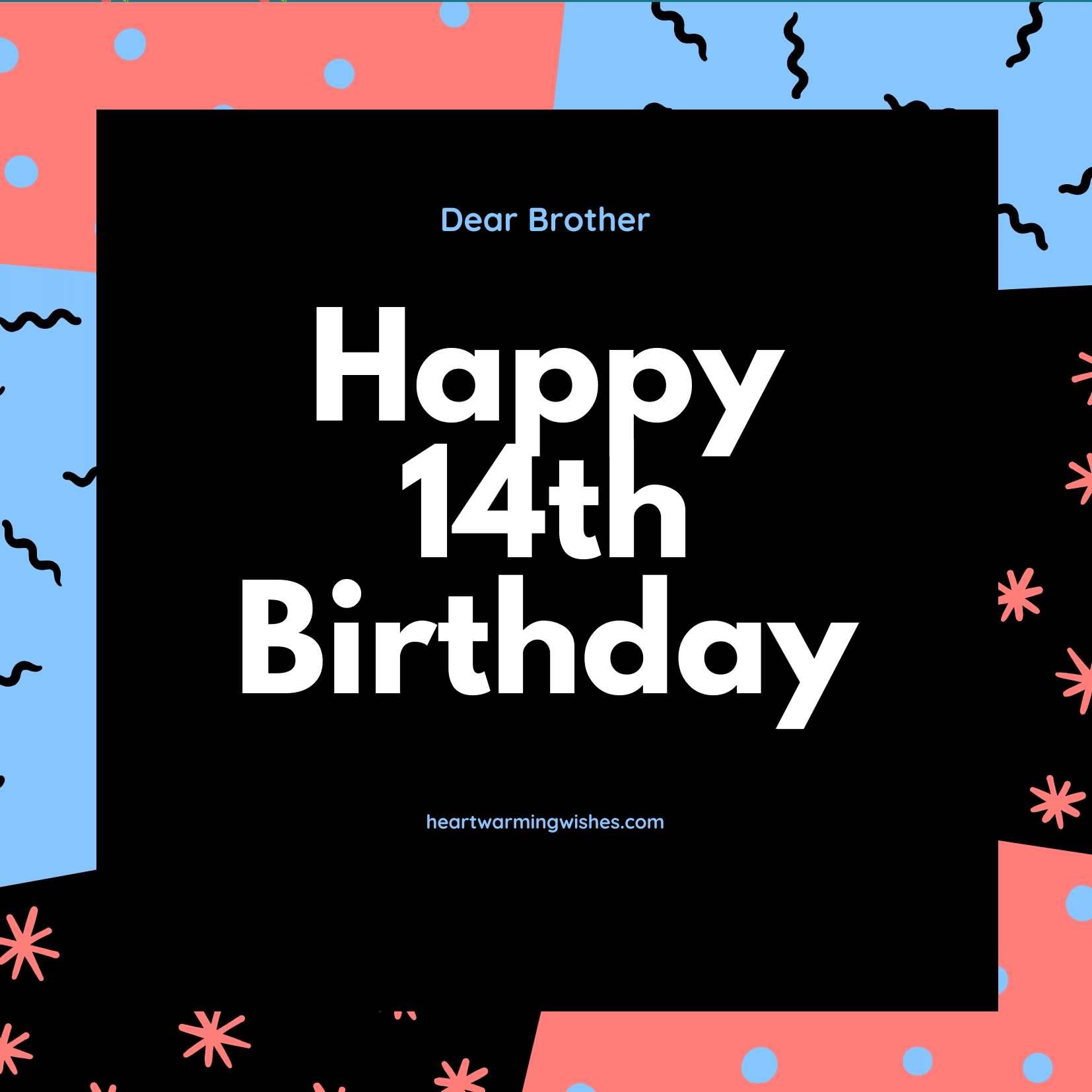 Attractive Happy 14th Birthday Idea For Facebook