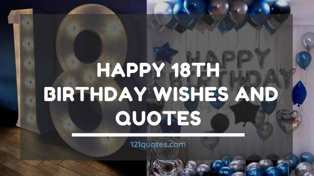 Attractive Happy 18th Birthday Image For You
