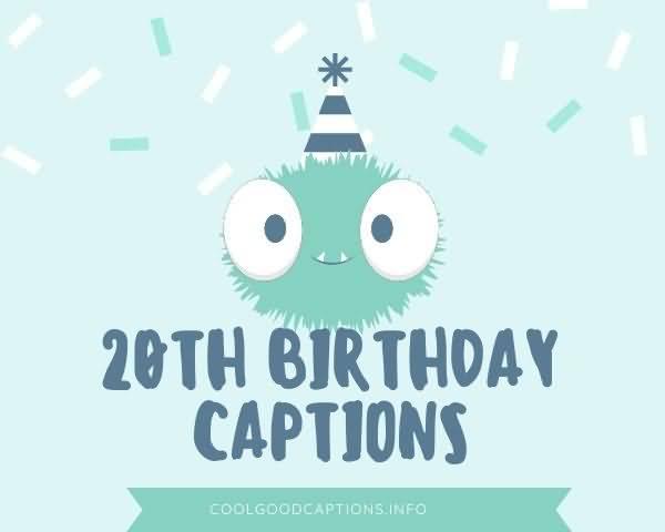 Attractive Happy 20th Birthday Idea For Facebook