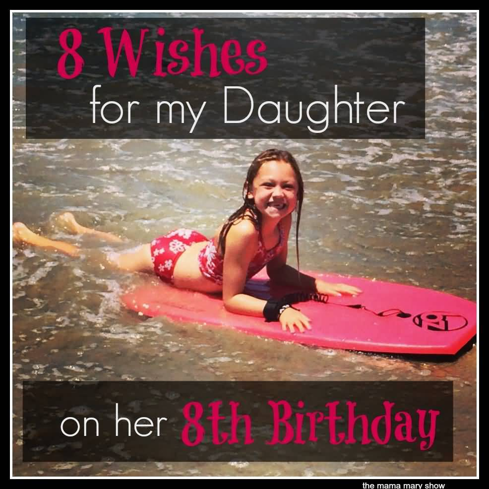 Awesome 8th Birthday Picture For Kid