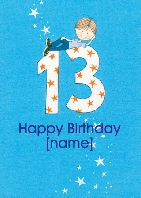 Awesome Happy 13th Birthday Message For Facebook