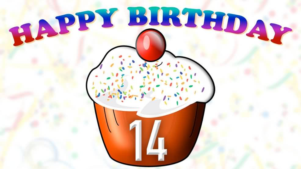 Awesome Happy 14th Birthday Picture For Kid