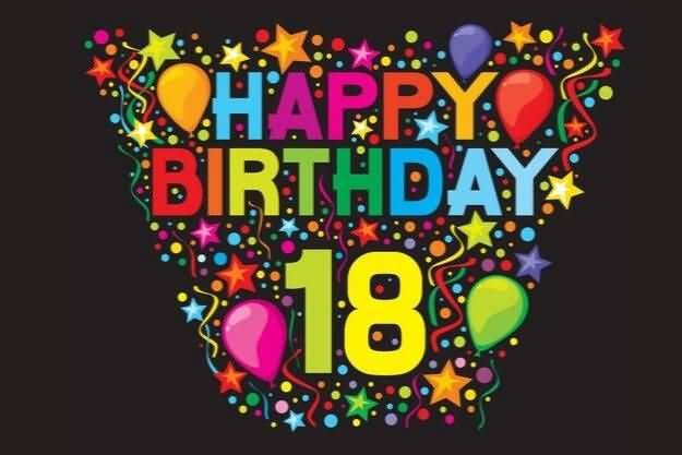 Awesome Happy 18th Birthday Message For Facebook