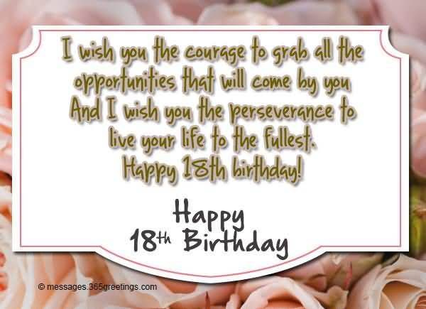 Awesome Happy 18th Birthday Picture For Facebook