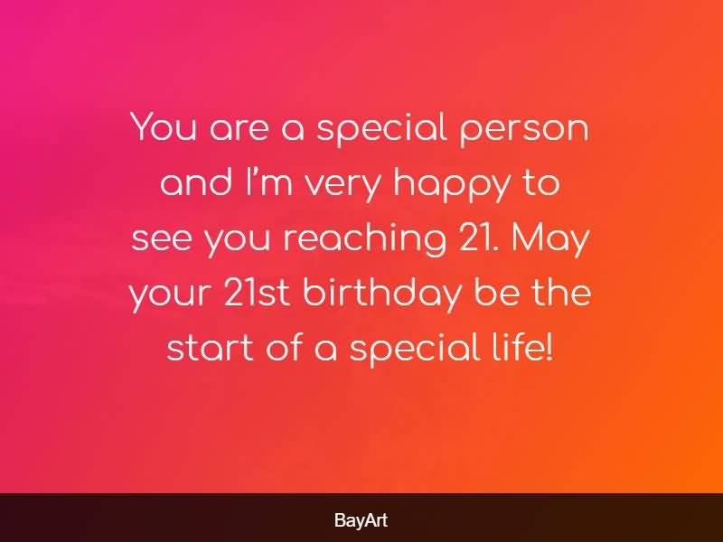 Awesome Happy 21st Birthday Image For Facebook