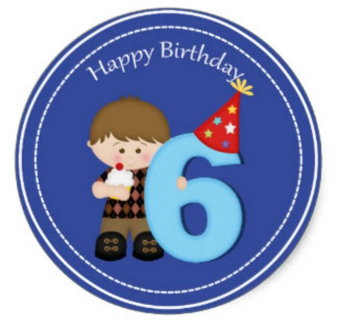 Beautiful 6th Birthday Wish For Sharing