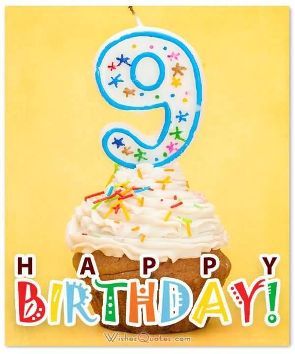 Beautiful 9th Birthday Wish For Sharing