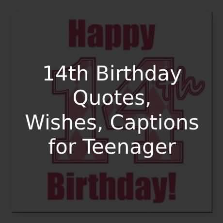 Beautiful Happy 14th Birthday Image For Children