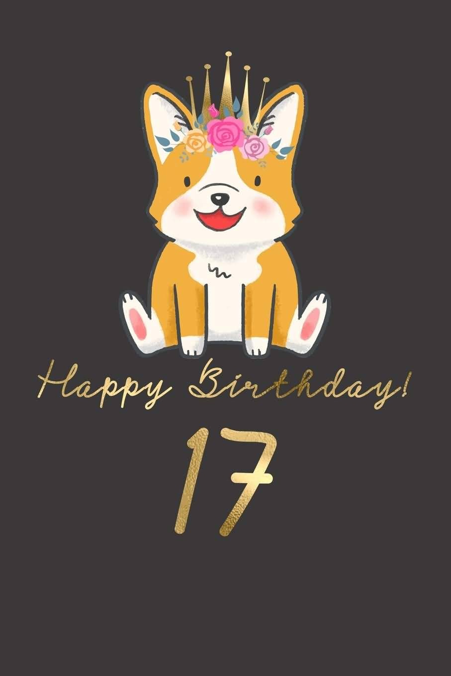 Beautiful Happy 17th Birthday Wishes Image For Children