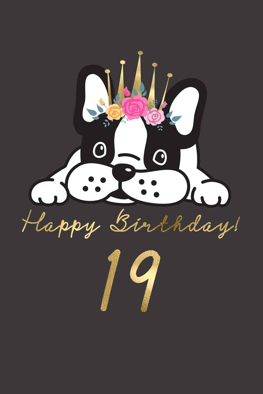 Beautiful Happy 19th Birthday Image For Sharing