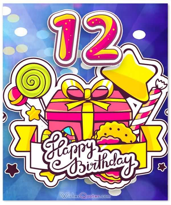 Best Happy 12th Birthday Image For You