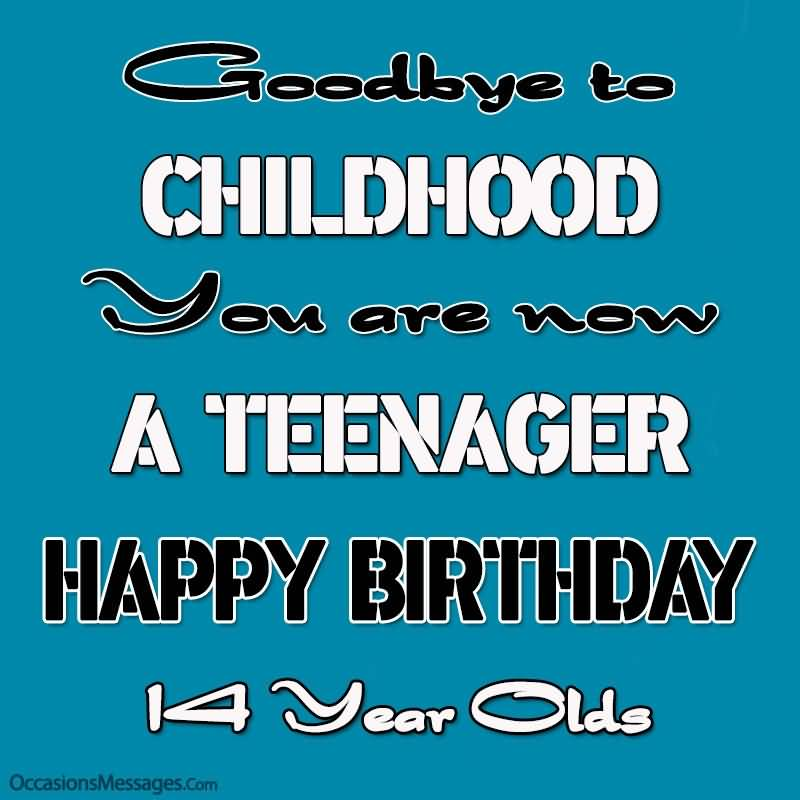 Best Happy 14th Birthday Wishes Message For Facebook