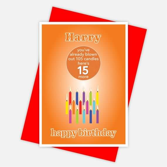 Best Happy 15th Birthday Wishes Card For You