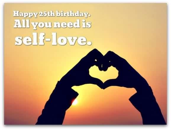 Best Happy 25th Birthday Greeting For Family Member