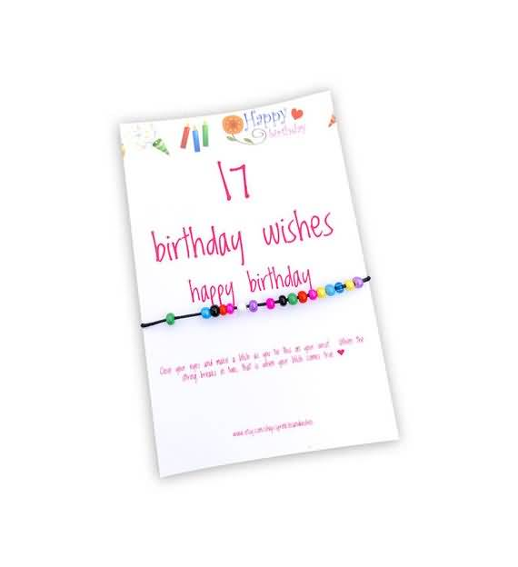 Cool Happy 17th Birthday Greeting For Sharing