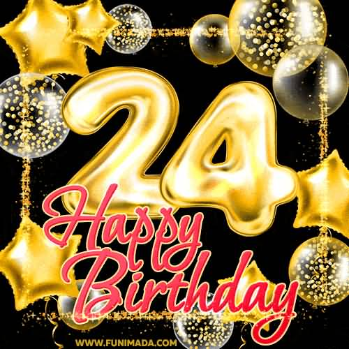 Cool Happy 24th Birthday Message For Facebook