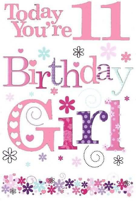 Eye Catching Happy 11th Birthday Wish For Kid