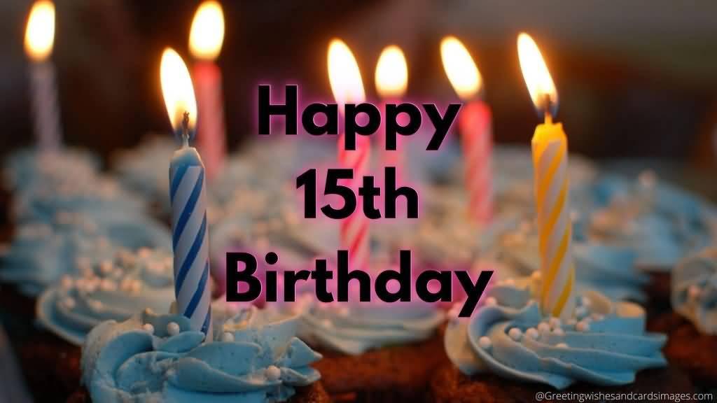 Eye Catching Happy 15th Birthday Idea For Facebook