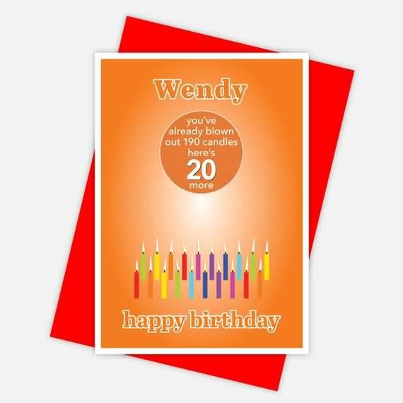 Eye Catching Happy 20th Birthday Card For Kid