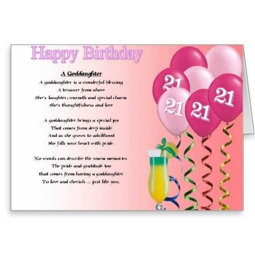 Eye Catching Happy 21st Birthday Wish For Facebook