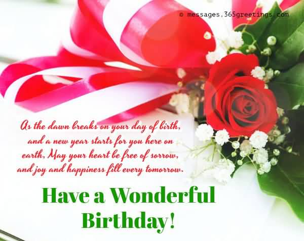 Eye Catching Happy 22nd Birthday Image For Facebook