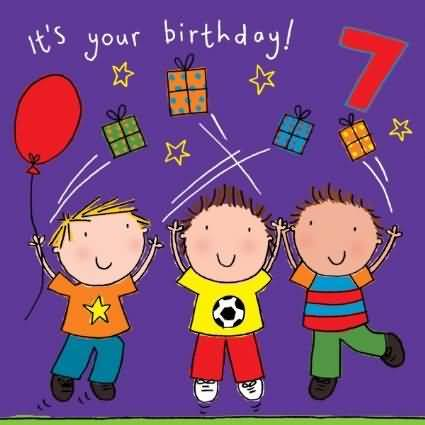 EyeCatching 7th Birthday Picture For Facebook