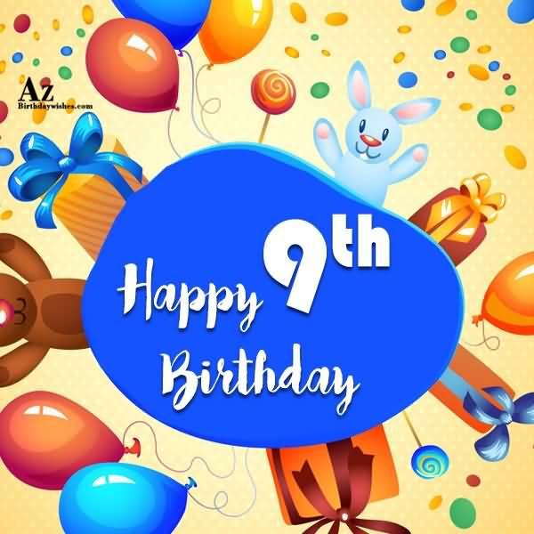 EyeCatching 9th Birthday Idea For Facebook