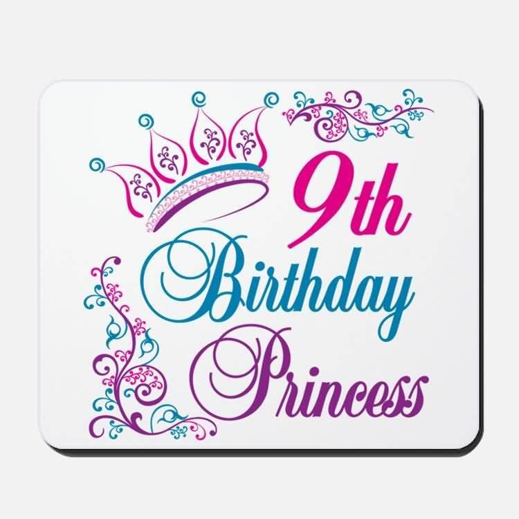 EyeCatching 9th Birthday Wish For Facebook