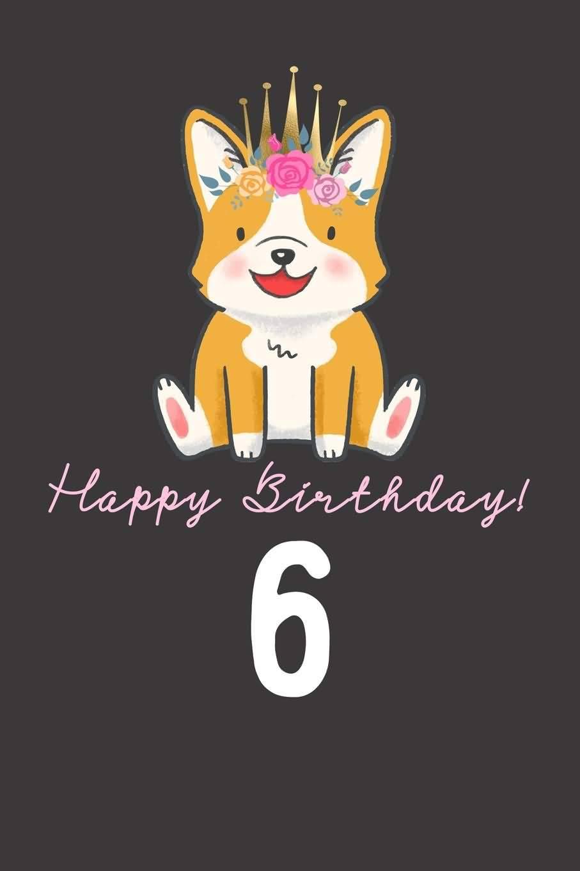 Latest 6th Birthday Card For Children