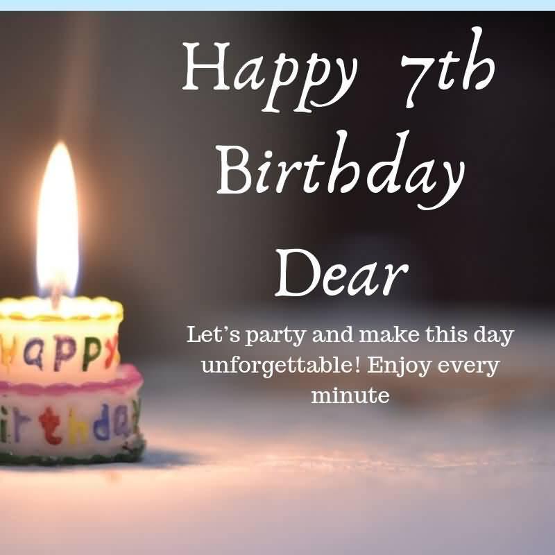 Latest 7th Birthday Idea For Children