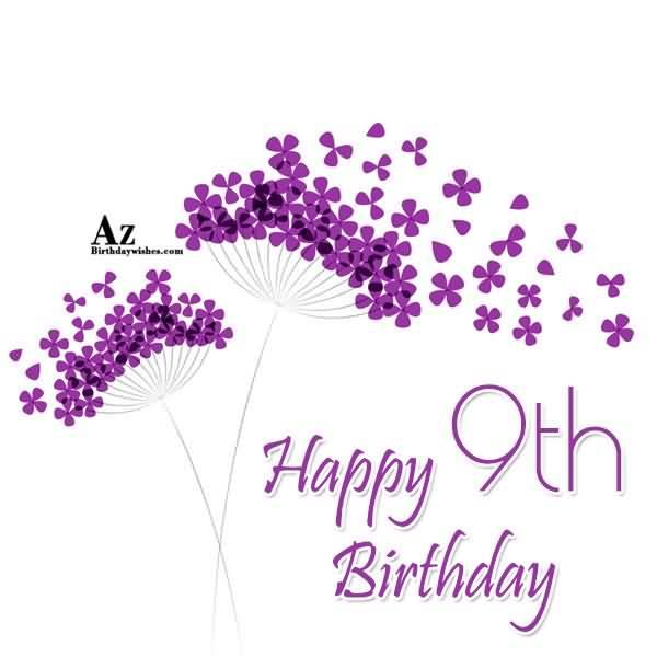 Latest 9th Birthday Image For Children