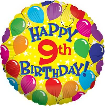 Latest 9th Birthday Picture For Children