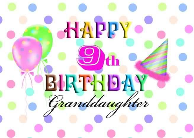 Latest 9th Birthday Wish For Children