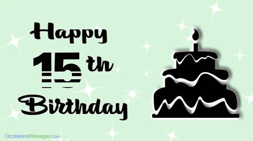 Latest Happy 15th Birthday Image For Children