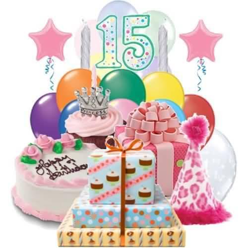 Latest Happy 15th Birthday Wish For Children