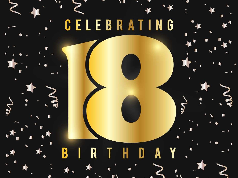 Latest Happy 18th Birthday Image For Children