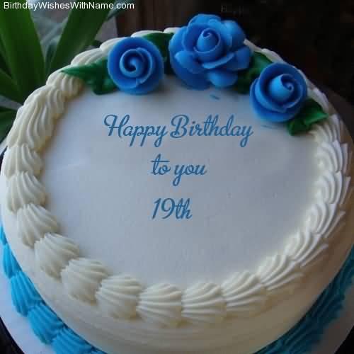 Latest Happy 19th Birthday Card For Children