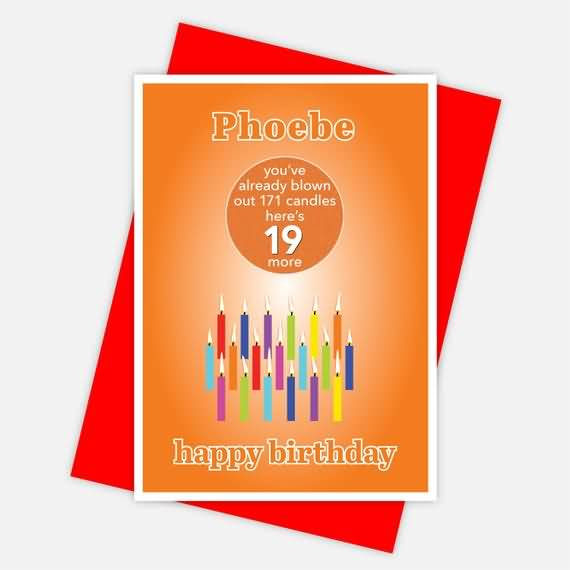 Latest Happy 19th Birthday Picture For Children